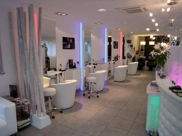aménagement salon de coiffure professionnel