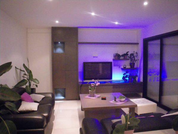 meuble salon TV rangements