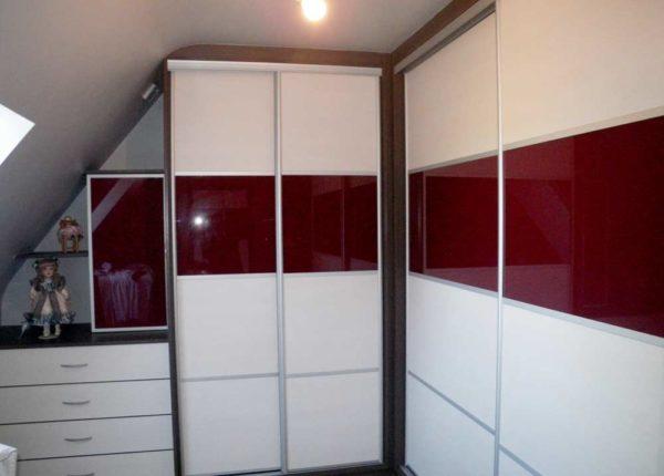 placard portes coulissantes tiroirs de rangement