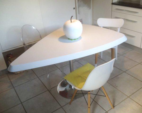 plateau table résine